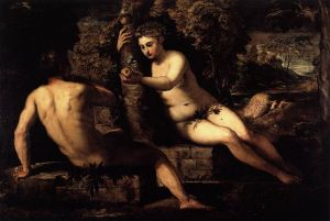 The Temptation of Adam by Tintoretto
