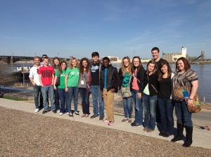 MSSU & Crowder College at the Jefferson National Expansion Memorial