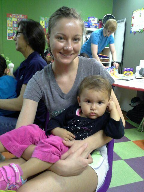 Childcare is a huge blessing to single moms from abusive backgrounds...